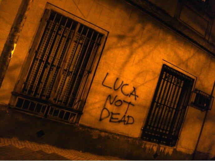 Luca not dead